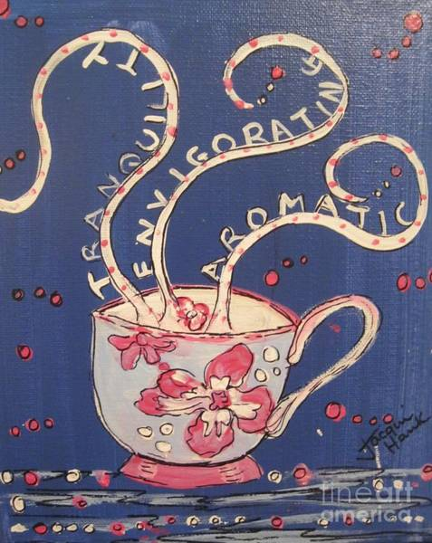 Painting - A Sweet Cup Of Tea by Jacqui Hawk
