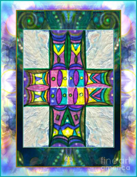 Mixed Media - A Symbol Of Faith by Wbk