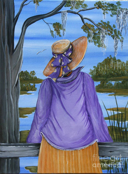 Hilton Head Island Painting - A Talk With God by Sonja Griffin Evans