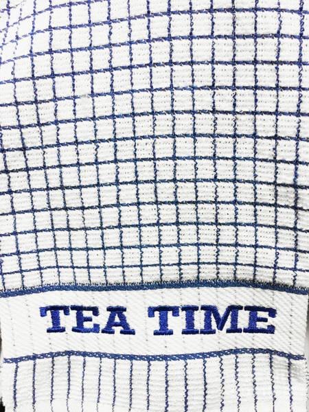 Checker Photograph - A Tea Towel by Tom Gowanlock