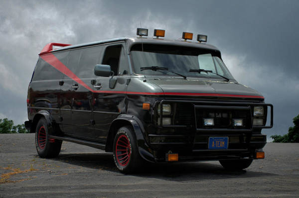 Photograph - A-team Van Tribute Vehicle by Tim McCullough