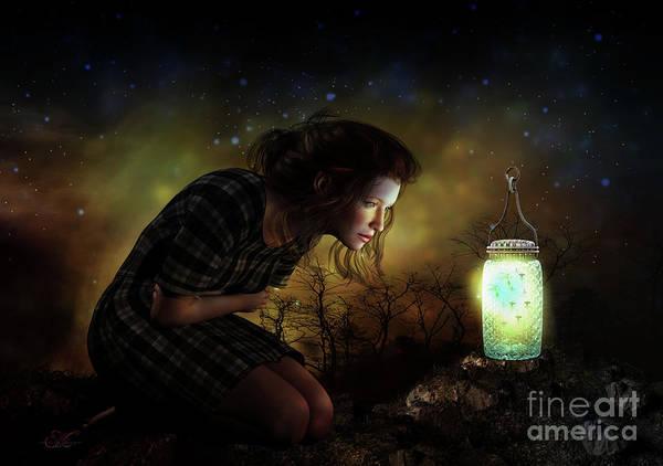 Lightning Digital Art - A Thousand Hugs by Shanina Conway