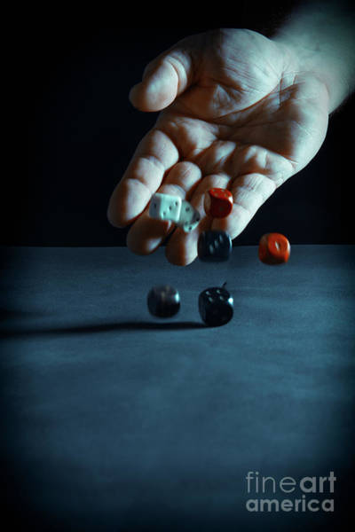 Throwing Wall Art - Photograph - A Throw Of The Dice by Amanda Elwell