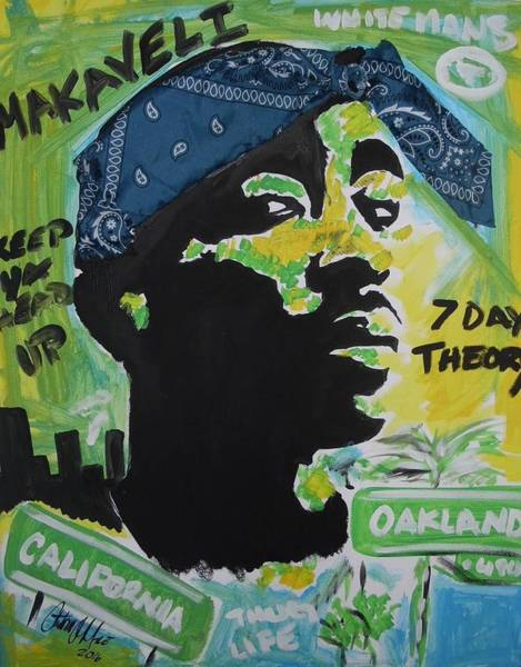Mixed Media - A Thugs Mind by Antonio Moore