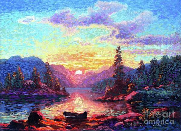 Maine Wall Art - Painting - A Time For Peace by Jane Small