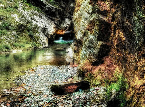 Photograph - A Tiny Waterfall In Montana by Kay Brewer