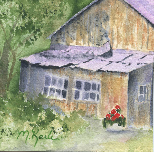 Painting - A Touch Of Color by Marsha Karle