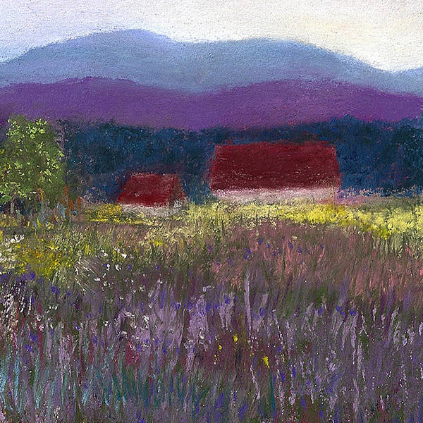 Painting - A Touch Of Lavender by David Patterson