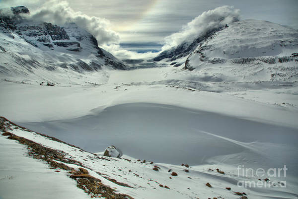 Photograph - A Touch Of Winter Icebow by Adam Jewell