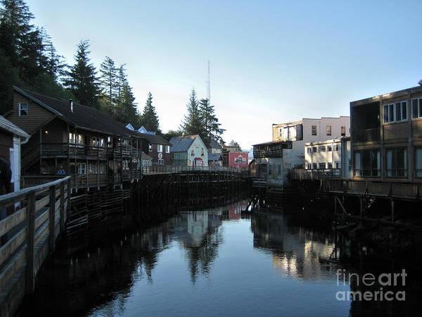 Photograph - A Towns Reflection by Lori Tambakis