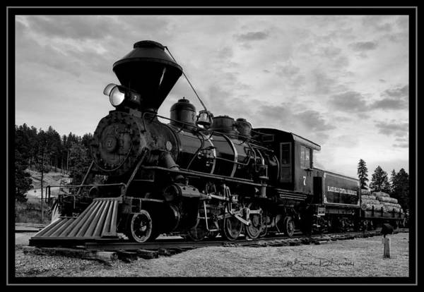Wall Art - Photograph - A Train From The Past by Brenda D Busskohl