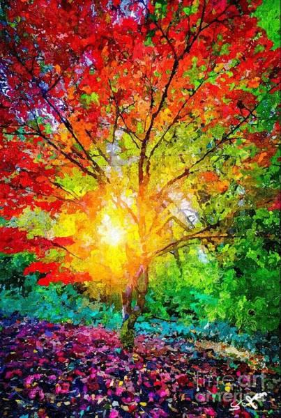 A Tree In Glory Art Print