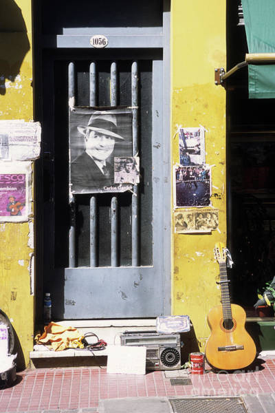 Photograph - A Tribute To Carlos Gardel by James Brunker