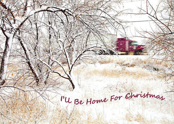 Wall Art - Photograph - A Trucker's Christmas Card by Theresa Tahara