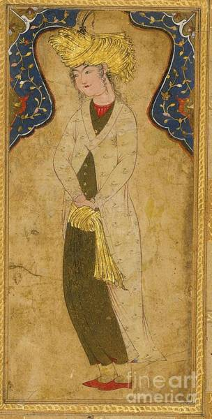 Painting - A Turbaned Youth by Celestial Images