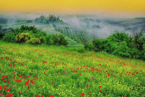 Wall Art - Photograph - A Tuscan Dream by Midori Chan