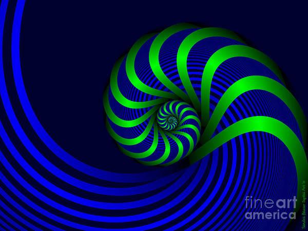 Digital Art - A Twisted Mind by Sandra Bauser Digital Art
