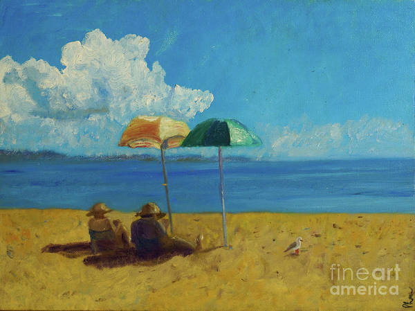 Painting - A Vacant Lot - Byron Bay by Paul McKey