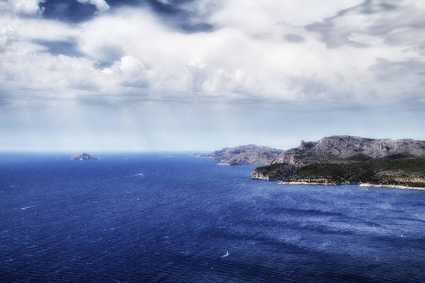 Photograph - A Very Blue Sea by Georgia Fowler
