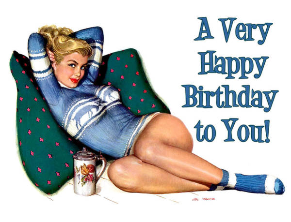 Wall Art - Painting - A Very Happy Birthday To You by Long Shot