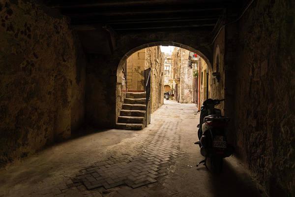 Photograph - A Very Italian Courtyard by Georgia Mizuleva