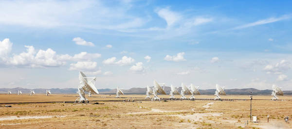 Wall Art - Photograph - A Very Large Array Scene In New Mexico by Derrick Neill
