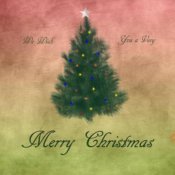 Digital Art - A Very Merry Christmas by Judy Hall-Folde