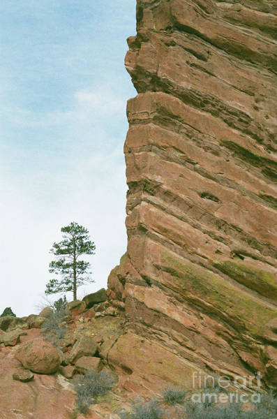 Photograph - A Very Tall Rock by Ana V Ramirez
