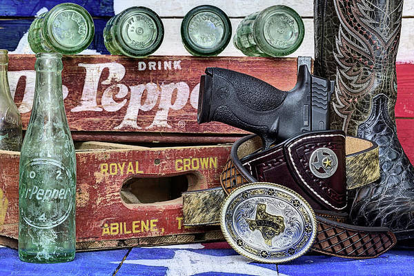 Photograph - A Very Texas Still Life by JC Findley