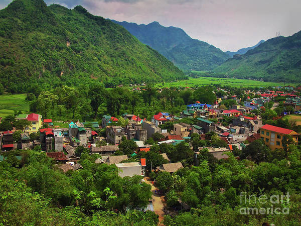 Photograph - A View From Step 1,153 In Mai Chau, Vietnam, Southeast Asia by Sam Antonio Photography