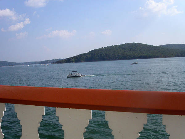 Photograph - A View From The Belle Of Branson by Anne Cameron Cutri