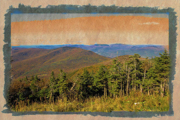 Photograph -  Equinox Mountain, Vermont.             by Rusty R Smith