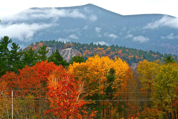 Photograph - A View In North Conway by Jeremy McKay