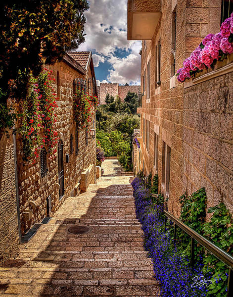 Photograph - A View Of The Old City Walls by Endre Balogh