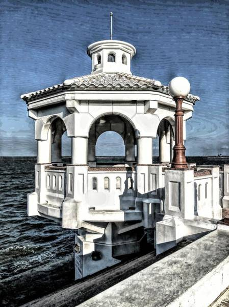 Photograph -  A View Of Corpus Christi Bay by Luther Fine Art