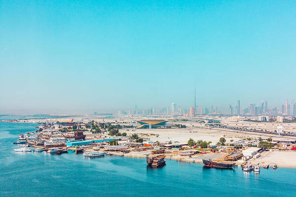 Photograph - A View Of Dubai by SR Green