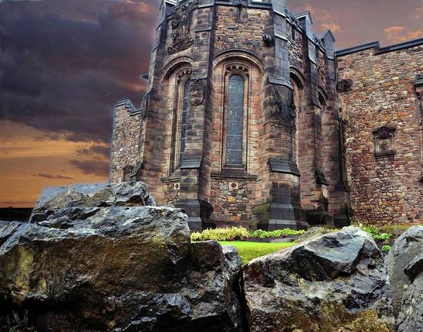 Photograph - A View Of Edinburgh Castle by Coleman Mattingly