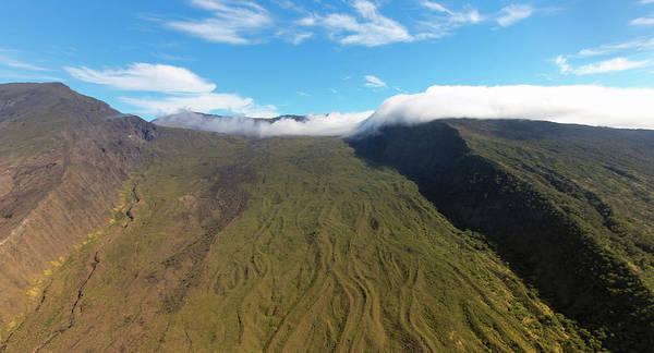 Haleakala Crater Photograph - A View Of Kaupo Gap, Haleakala National Park, Maui, Hawaii by Derrick Neill