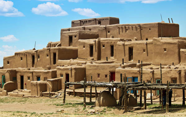 Wall Art - Photograph - A View Of North House, Taos Pueblo by Derrick Neill