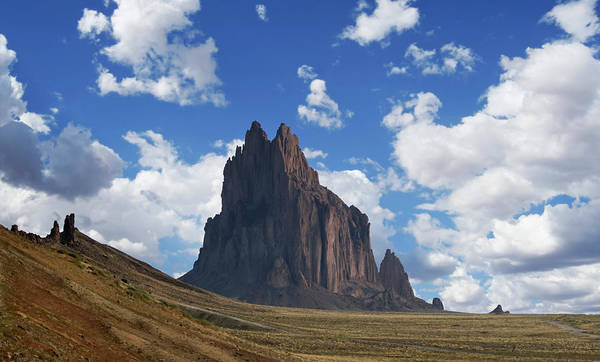 Wall Art - Photograph - A View Of Shiprock In New Mexico by Derrick Neill