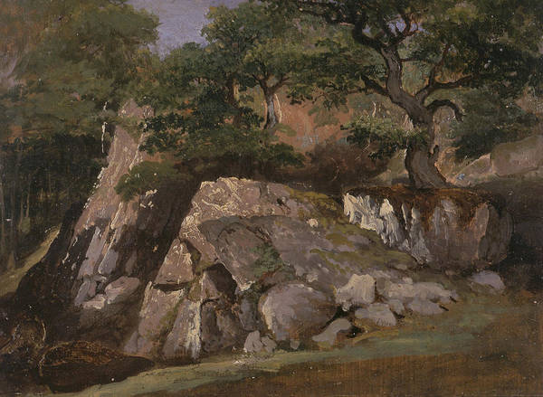 Painting - A View Of The Valley Of Rocks Near Mittlach  by James Arthur O'Connor