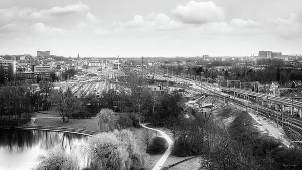 Railroad Station Photograph - A View On Ghent by Wim Lanclus