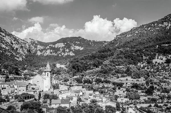 Aurore Photograph - A View Over Valldemossa  by Naylors Photography