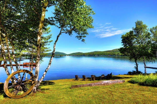 Fulton Chain Of Lakes Photograph - A View To Remember by David Patterson