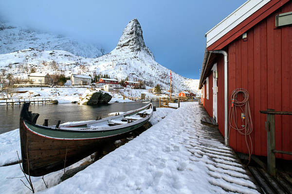 Photograph - A Village Lofoten by Dubi Roman