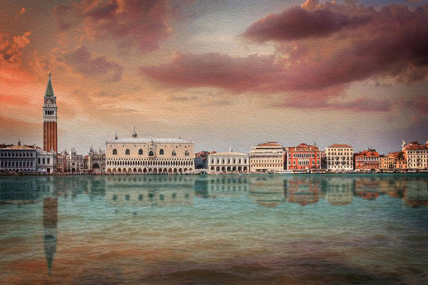 Italia Photograph - A Vision Of Venice Italy Reflected by Carol Japp