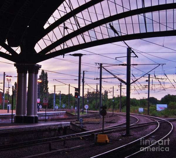 Wall Art - Photograph - York Train Station Vision # 2 by Marcus Dagan