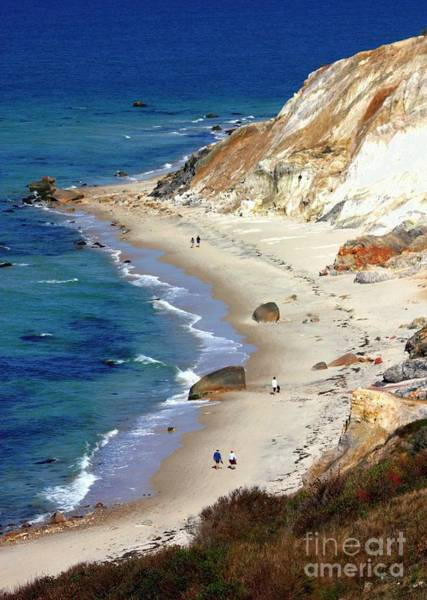 Photograph - A Walk Along Aquinnah Beach by Carol Groenen