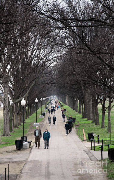 Photograph - A Walk Along The National Mall In Washington Dc by William Kuta
