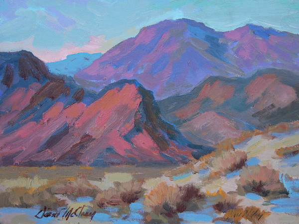 Wall Art - Painting - A Walk At La Quinta Cove by Diane McClary